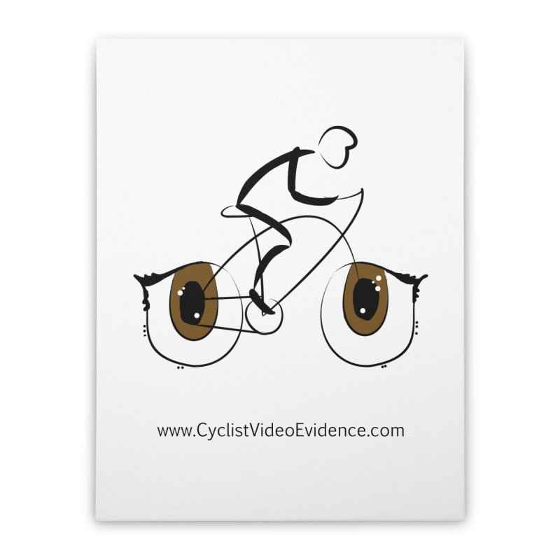 Cyclist Video Evidence Home Stretched Canvas by Cyclist Video Evidence's Artist Shop