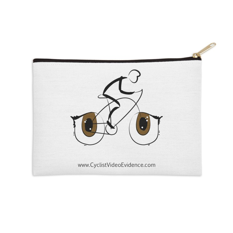 Cyclist Video Evidence Accessories Zip Pouch by Cyclist Video Evidence's Artist Shop