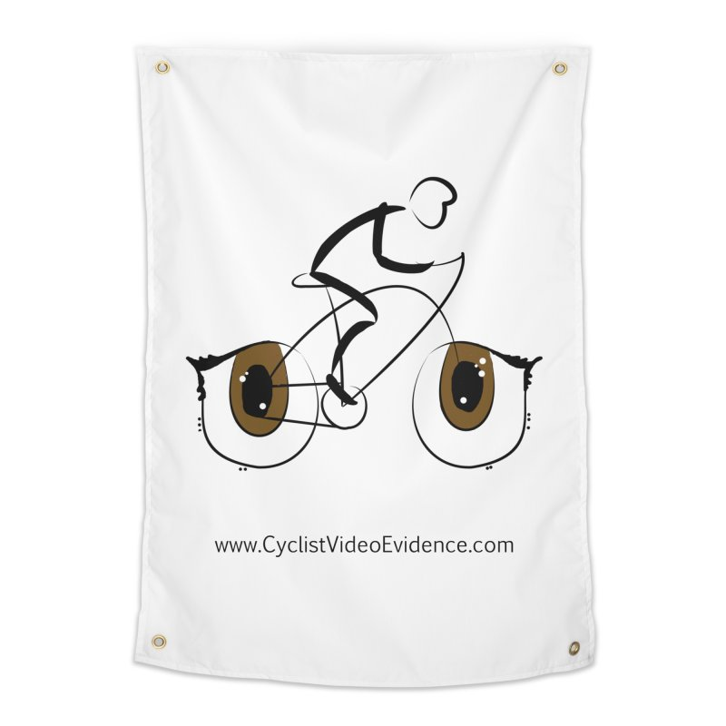 Cyclist Video Evidence Home Tapestry by Cyclist Video Evidence's Artist Shop