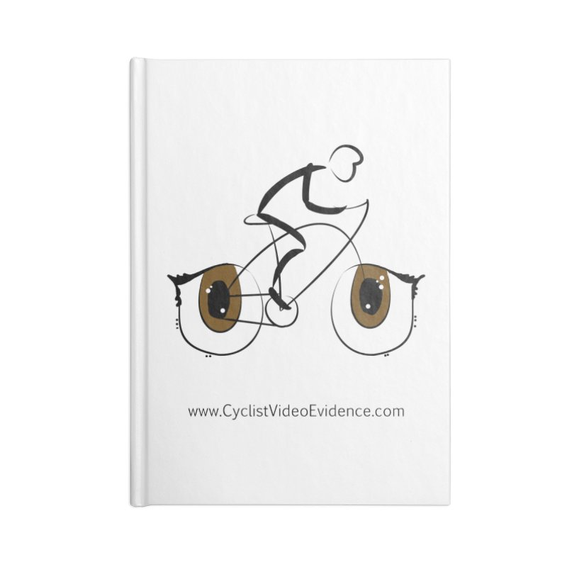 Cyclist Video Evidence Accessories Blank Journal Notebook by Cyclist Video Evidence's Artist Shop