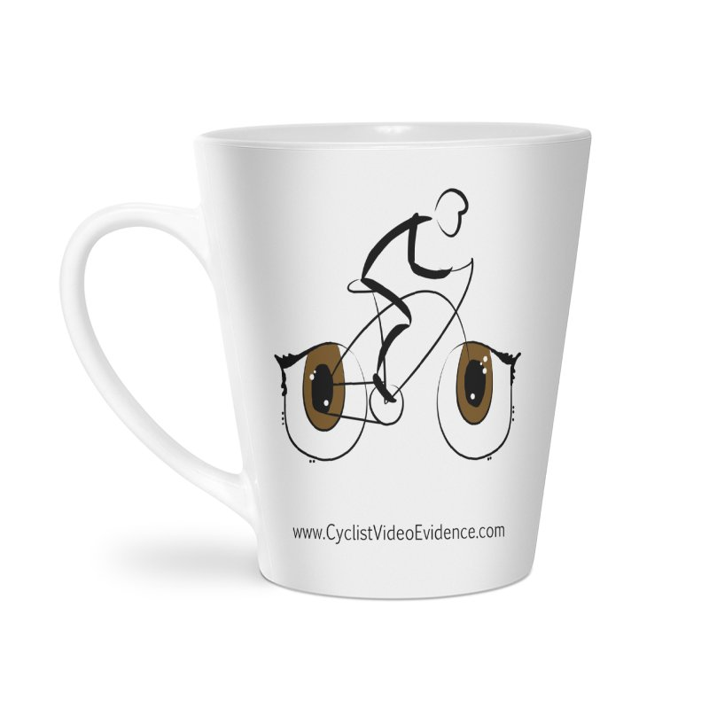 Cyclist Video Evidence Accessories Latte Mug by Cyclist Video Evidence's Artist Shop