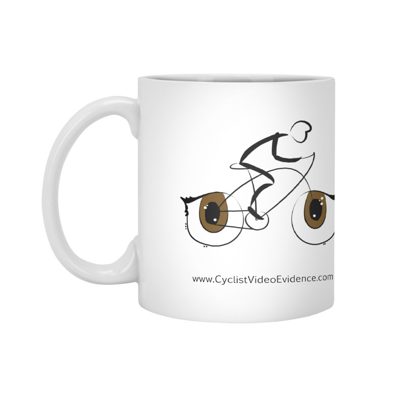 Cyclist Video Evidence Accessories Mug by Cyclist Video Evidence's Artist Shop