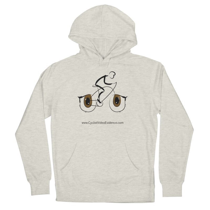 Cyclist Video Evidence Men's French Terry Pullover Hoody by Cyclist Video Evidence's Artist Shop