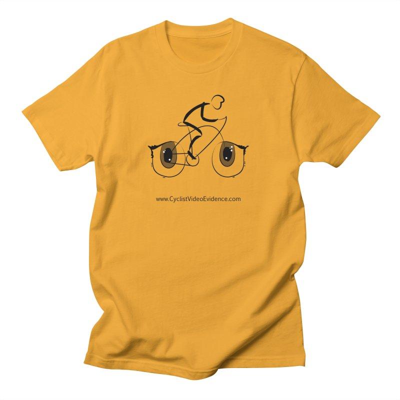 Cyclist Video Evidence Men's Regular T-Shirt by Cyclist Video Evidence's Artist Shop