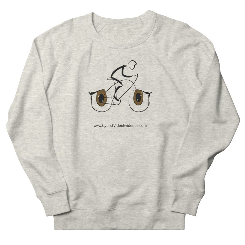Cyclist Video Evidence Men's French Terry Sweatshirt by Cyclist Video Evidence's Artist Shop
