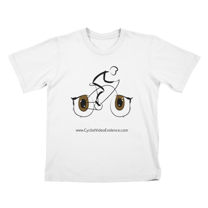 Cyclist Video Evidence Kids T-Shirt by Cyclist Video Evidence's Artist Shop