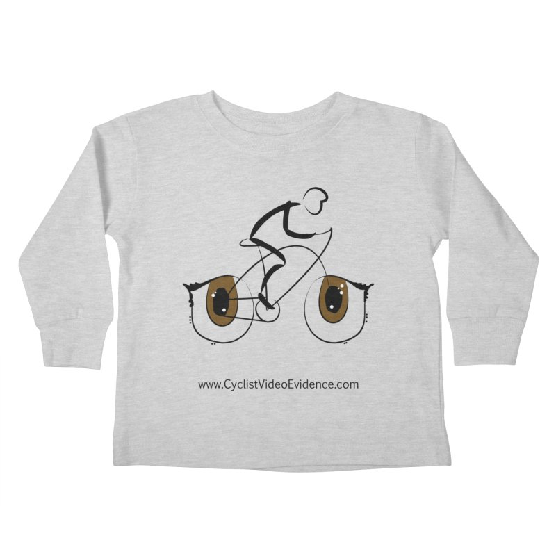 Cyclist Video Evidence Kids Toddler Longsleeve T-Shirt by Cyclist Video Evidence's Artist Shop