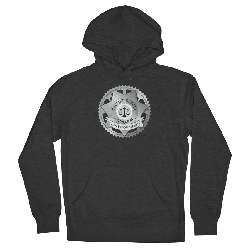 Cyclist Safety Through Law Enforcement Women's French Terry Pullover Hoody by Cyclist Video Evidence's Artist Shop
