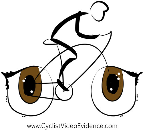 Cyclist Video Evidence's Artist Shop Logo