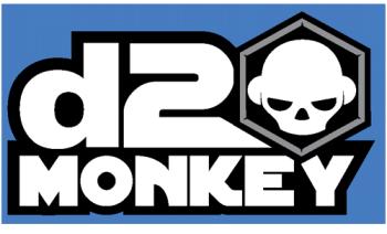d20monkey's Shop Logo
