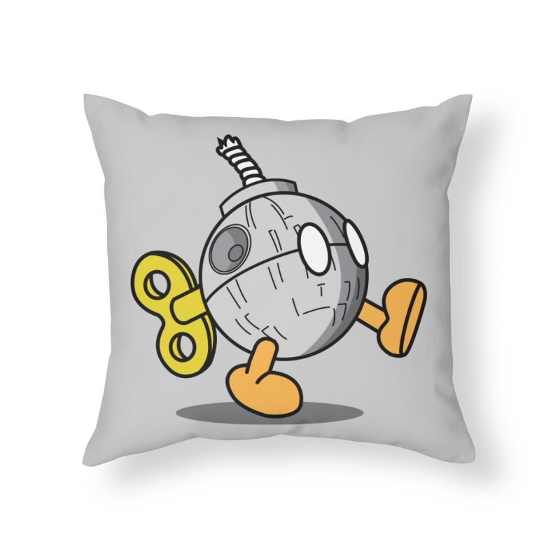 That's no Bob-omb Home Throw Pillow by D4N13L design & stuff