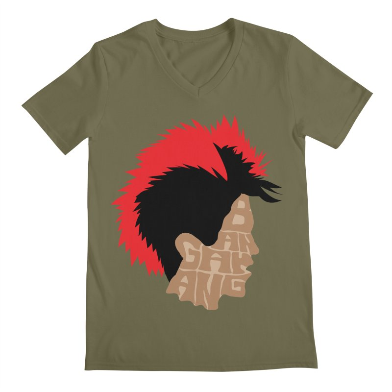 Bangarang! Men's V-Neck by D4N13L design & stuff