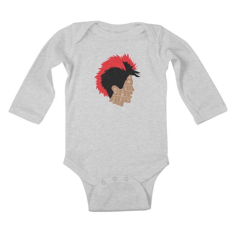 Bangarang! Kids Baby Longsleeve Bodysuit by D4N13L design & stuff