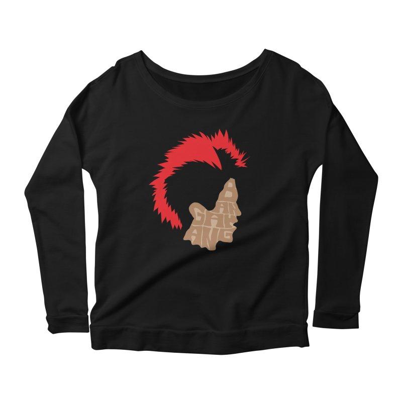 Bangarang! Women's Scoop Neck Longsleeve T-Shirt by D4N13L design & stuff