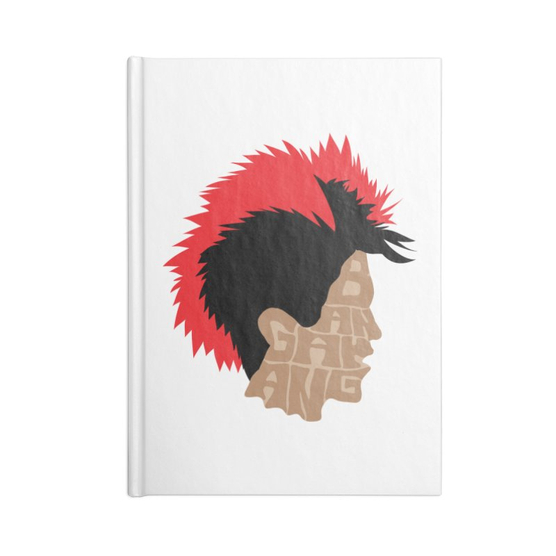 Bangarang! Accessories Blank Journal Notebook by D4N13L design & stuff