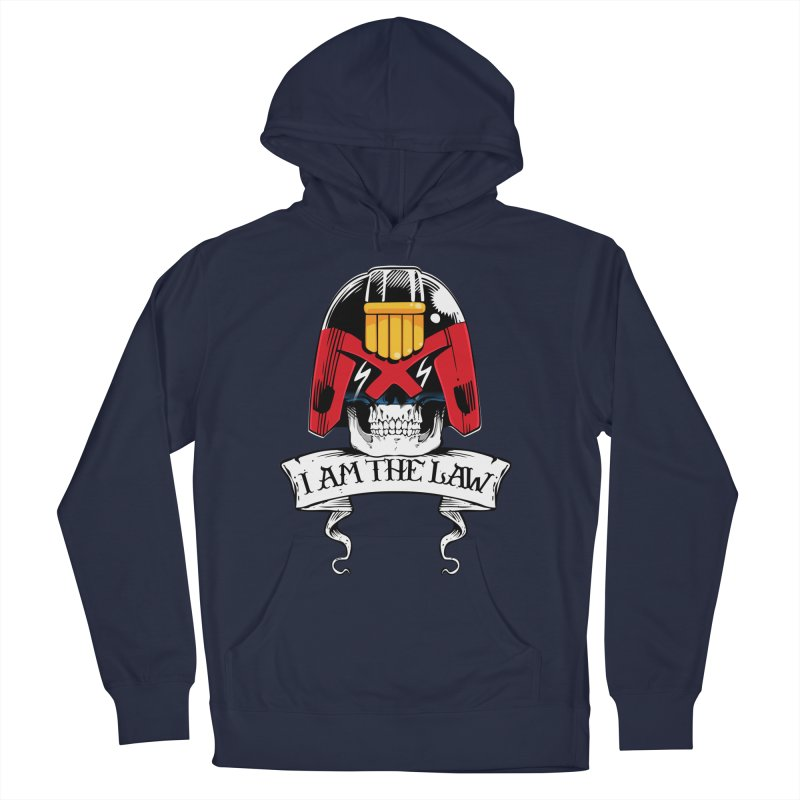 I AM THE LAW Men's Pullover Hoody by D4N13L design & stuff