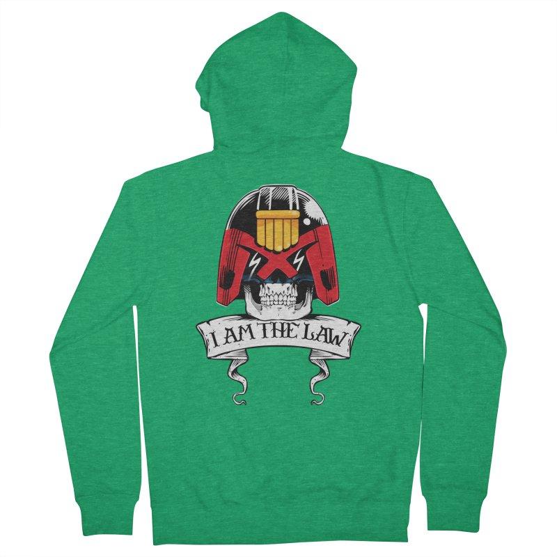 I AM THE LAW Women's Zip-Up Hoody by D4N13L design & stuff