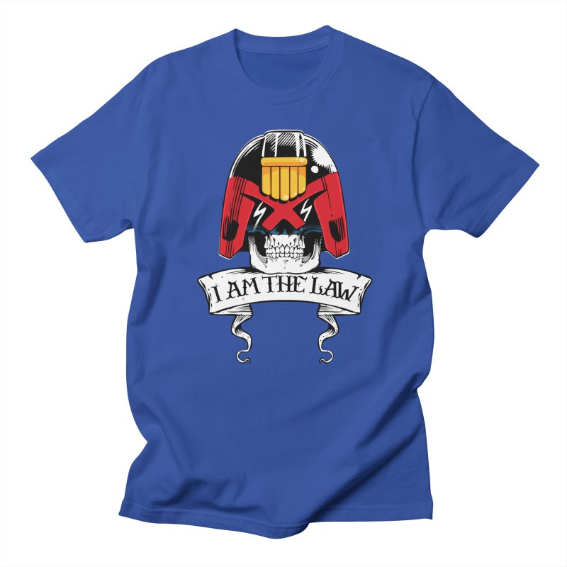 I AM THE LAW Women's T-Shirt by D4N13L design & stuff