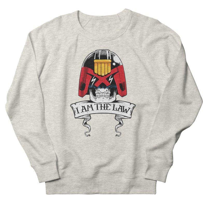 I AM THE LAW Men's Sweatshirt by D4N13L design & stuff