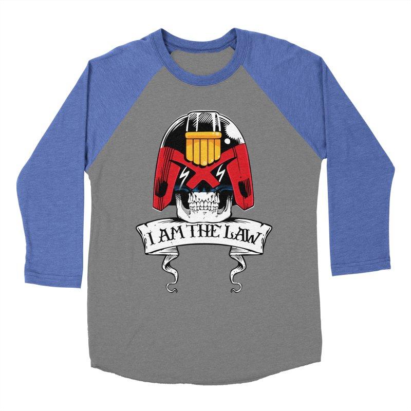 I AM THE LAW Women's Longsleeve T-Shirt by D4N13L design & stuff