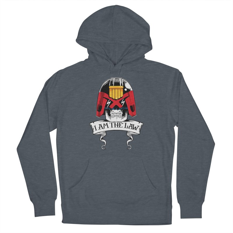 I AM THE LAW Men's French Terry Pullover Hoody by D4N13L design & stuff
