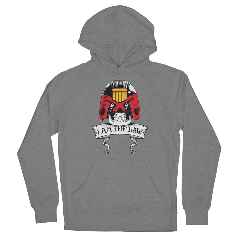 I AM THE LAW Women's Pullover Hoody by D4N13L design & stuff