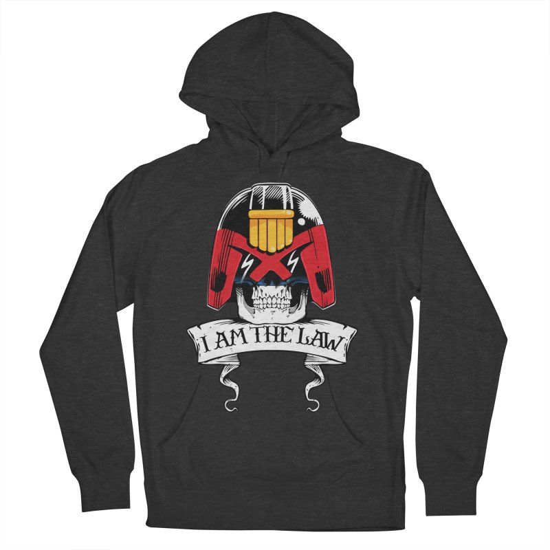 I AM THE LAW Women's French Terry Pullover Hoody by D4N13L design & stuff
