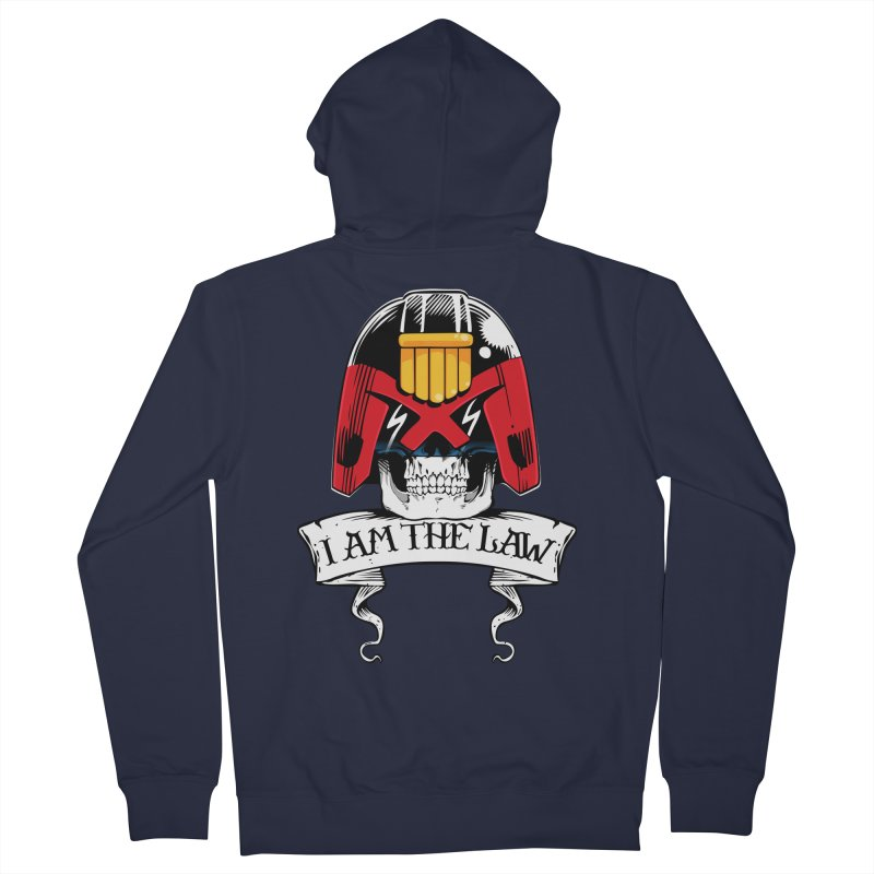 I AM THE LAW Women's Zip-Up Hoody by D4N13L design & stuff