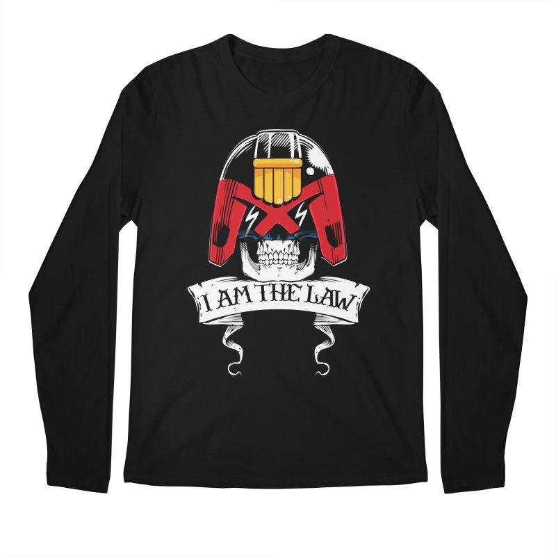 I AM THE LAW Men's Regular Longsleeve T-Shirt by D4N13L design & stuff