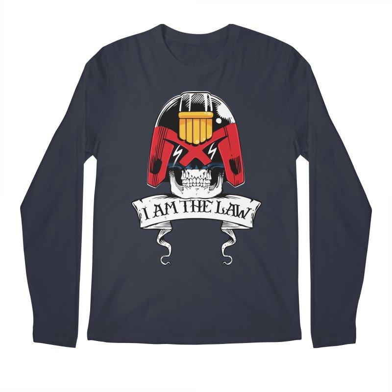 I AM THE LAW Men's Longsleeve T-Shirt by D4N13L design & stuff