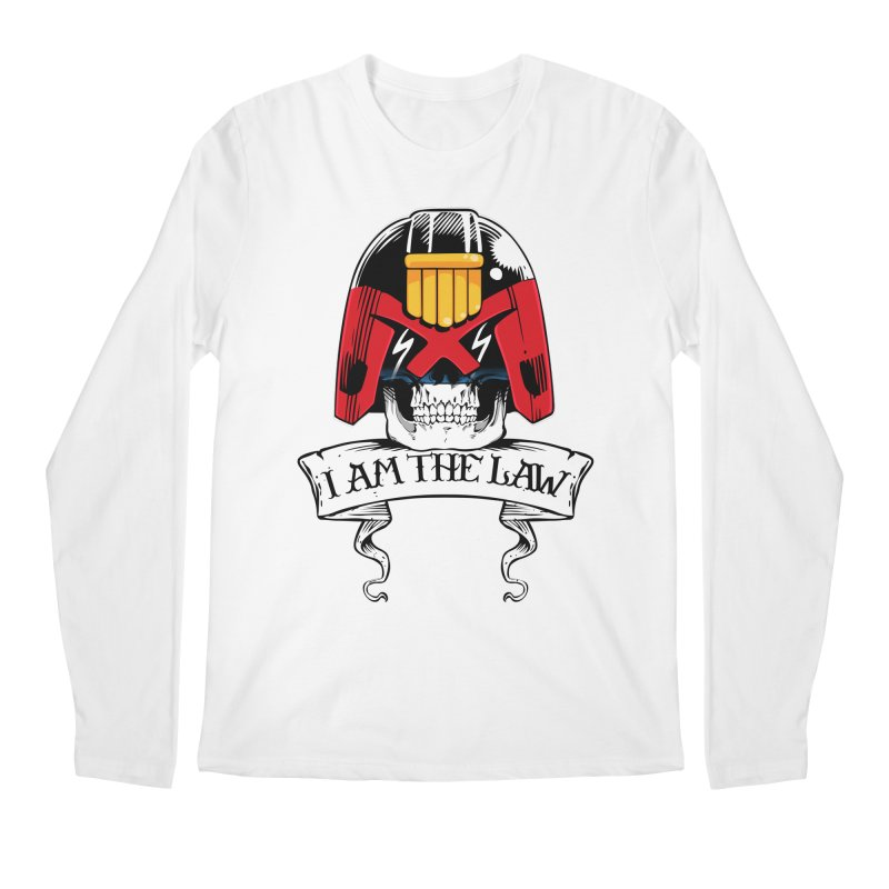 I AM THE LAW Men's Longsleeve T-Shirt by D4N13L design & stuff
