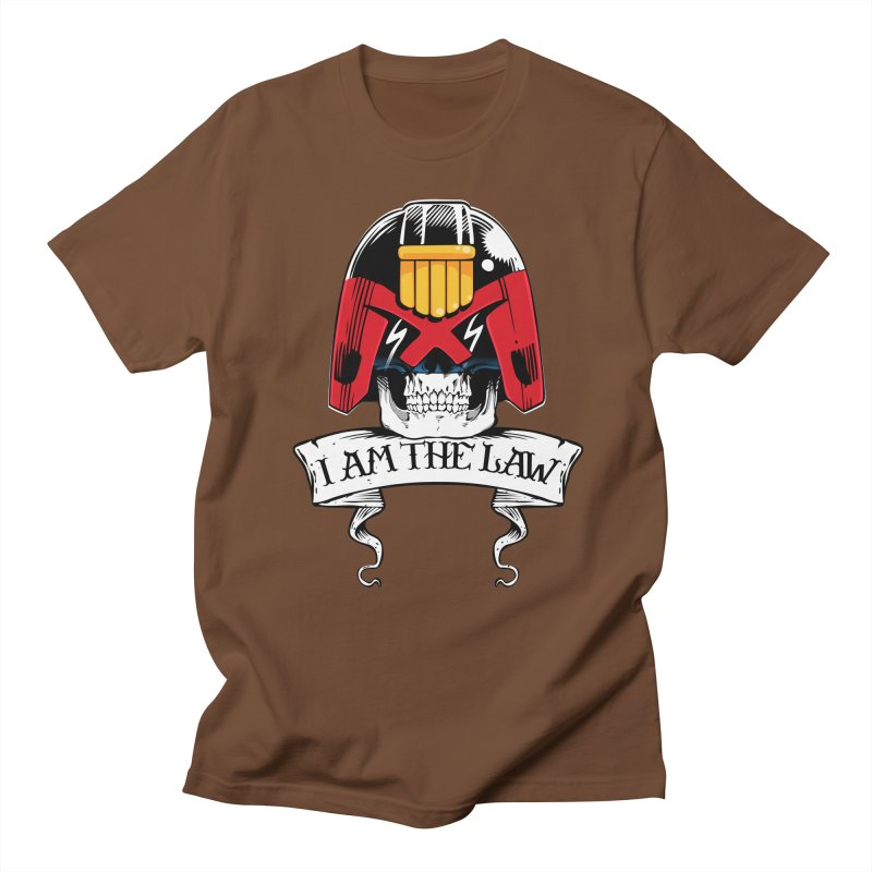 I AM THE LAW Men's T-shirt by D4N13L design & stuff