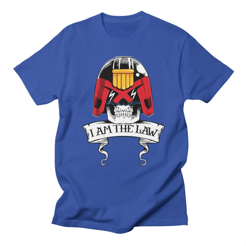I AM THE LAW Women's Regular Unisex T-Shirt by D4N13L design & stuff