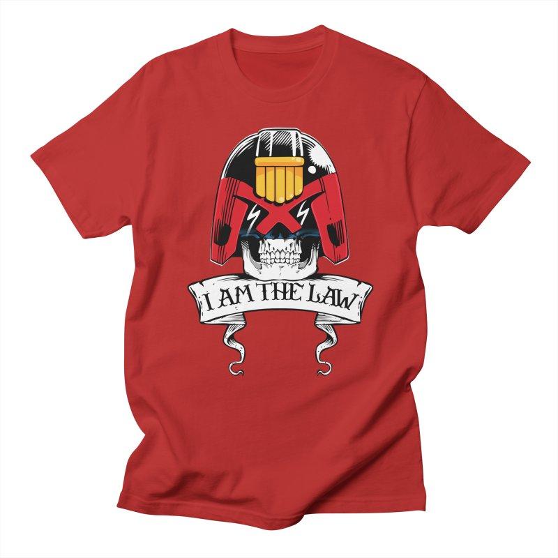 I AM THE LAW Men's T-shirt by D4N13L design & stuff