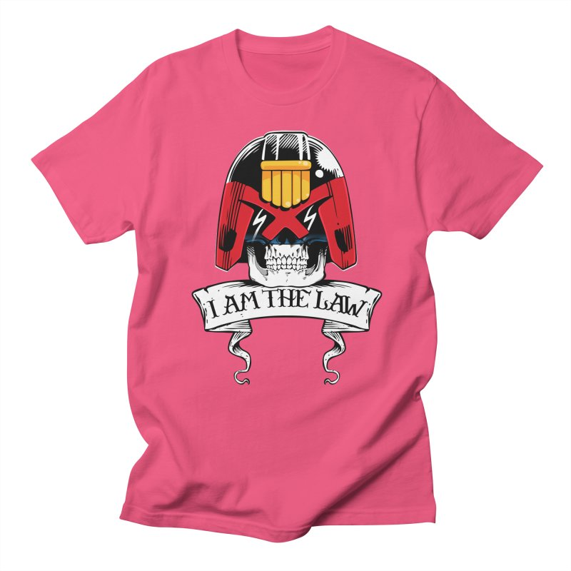 I AM THE LAW Men's Regular T-Shirt by D4N13L design & stuff