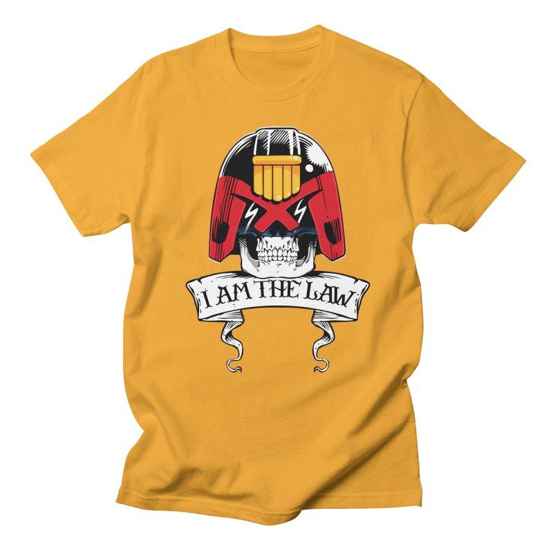I AM THE LAW Women's T-Shirt by D4N13L design & stuff