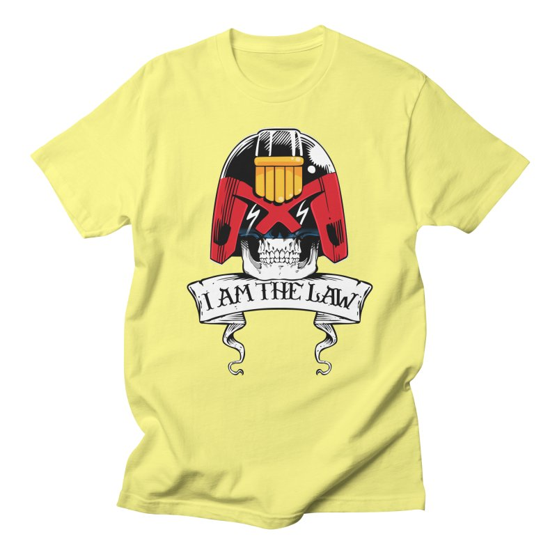 I AM THE LAW Men's Regular T-Shirt by D4N13L design & stuff