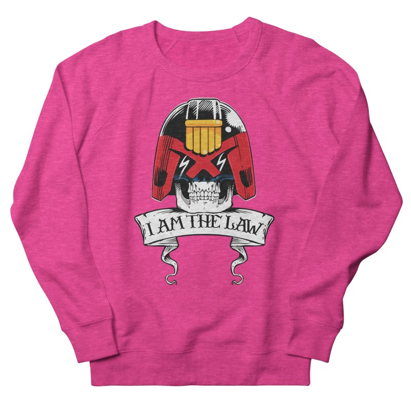I AM THE LAW Women's French Terry Sweatshirt by D4N13L design & stuff