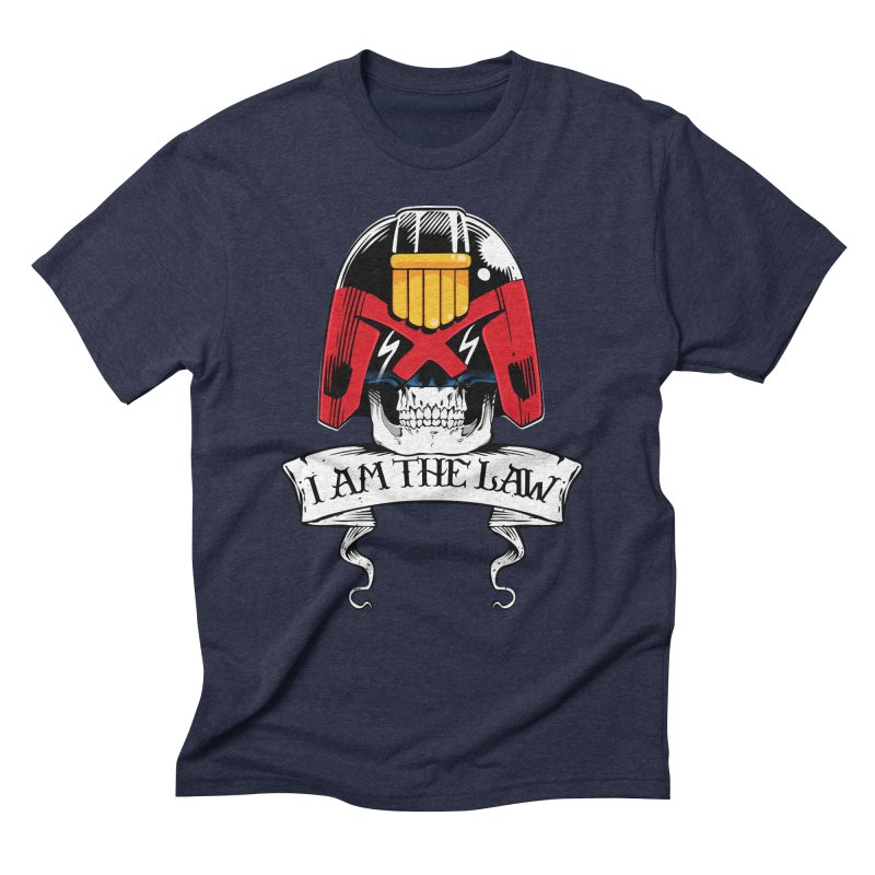 I AM THE LAW Men's Triblend T-Shirt by D4N13L design & stuff