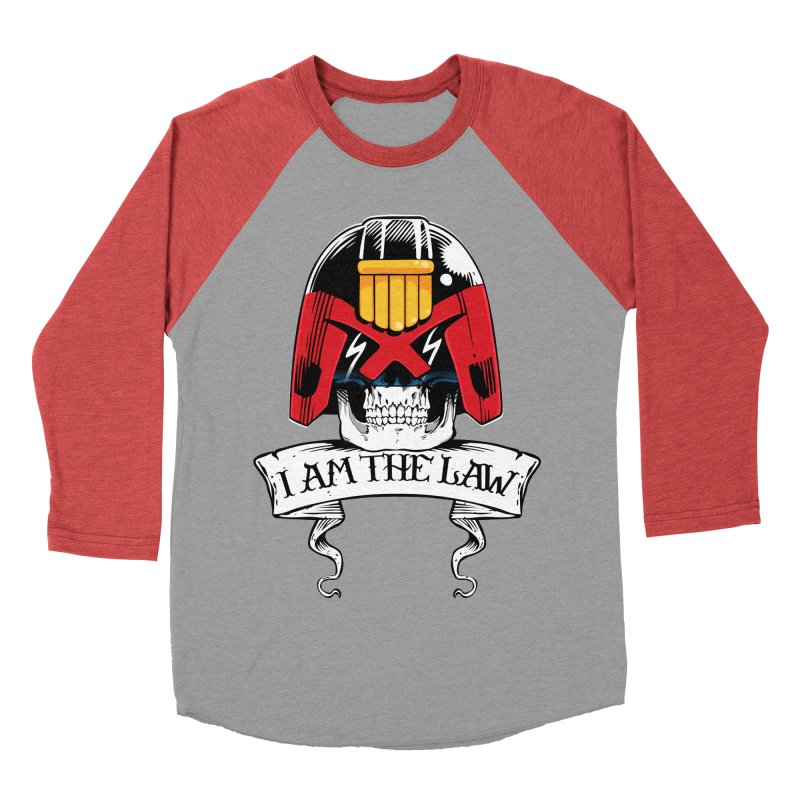 I AM THE LAW Men's Baseball Triblend Longsleeve T-Shirt by D4N13L design & stuff