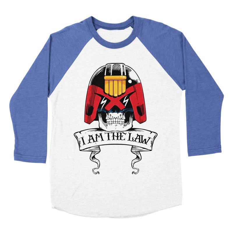 I AM THE LAW Men's Baseball Triblend Longsleeve T-Shirt by D4N13L design & stuff