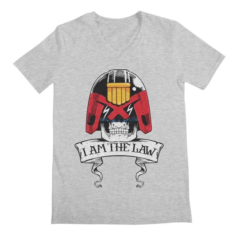 I AM THE LAW Men's V-Neck by D4N13L design & stuff
