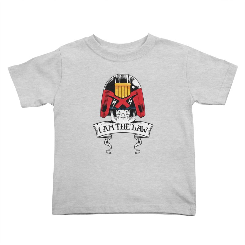 I AM THE LAW Kids Toddler T-Shirt by D4N13L design & stuff