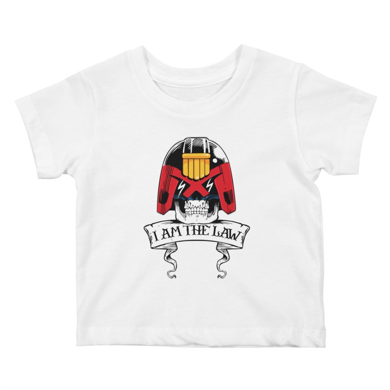 I AM THE LAW Kids Baby T-Shirt by D4N13L design & stuff
