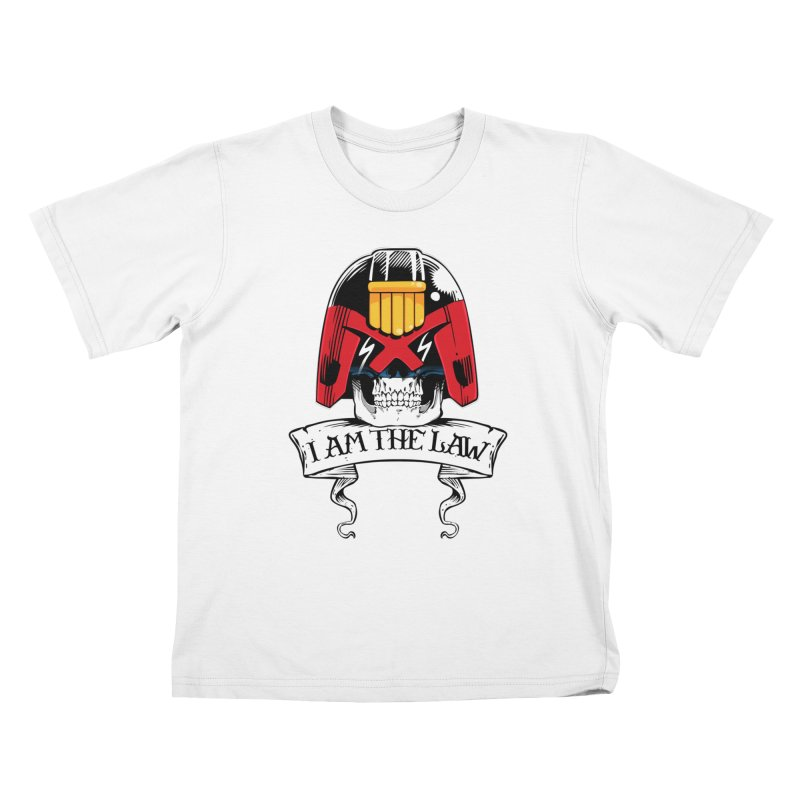 I AM THE LAW Kids T-Shirt by D4N13L design & stuff