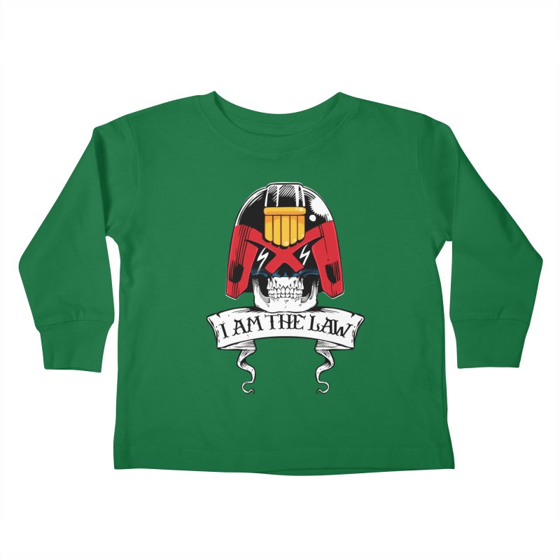 I AM THE LAW Kids Toddler Longsleeve T-Shirt by D4N13L design & stuff