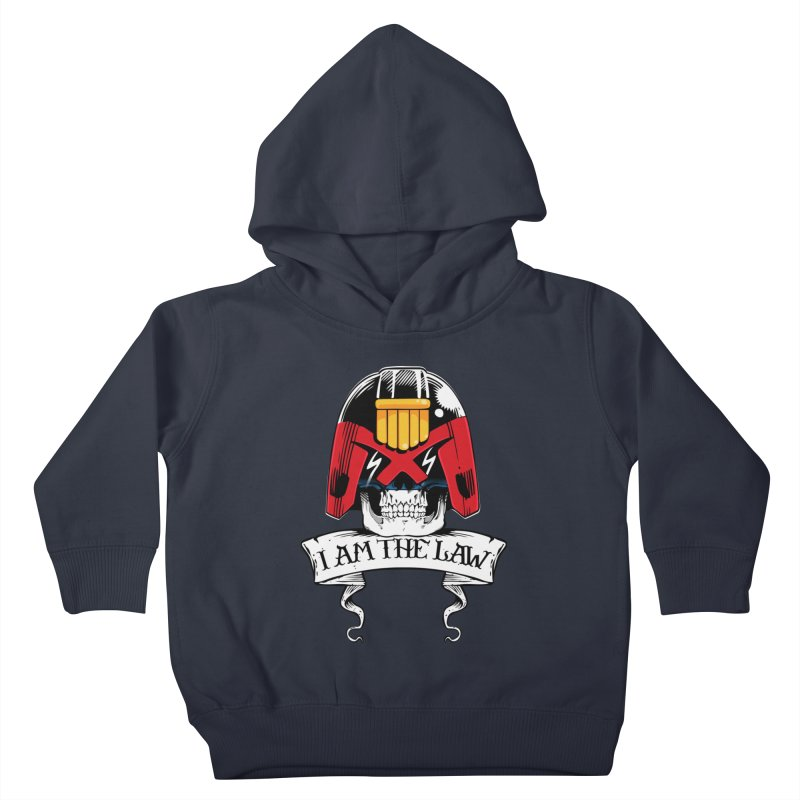 I AM THE LAW Kids Toddler Pullover Hoody by D4N13L design & stuff