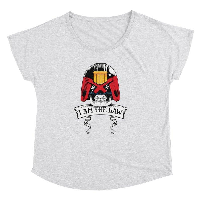 I AM THE LAW Women's Dolman Scoop Neck by D4N13L design & stuff