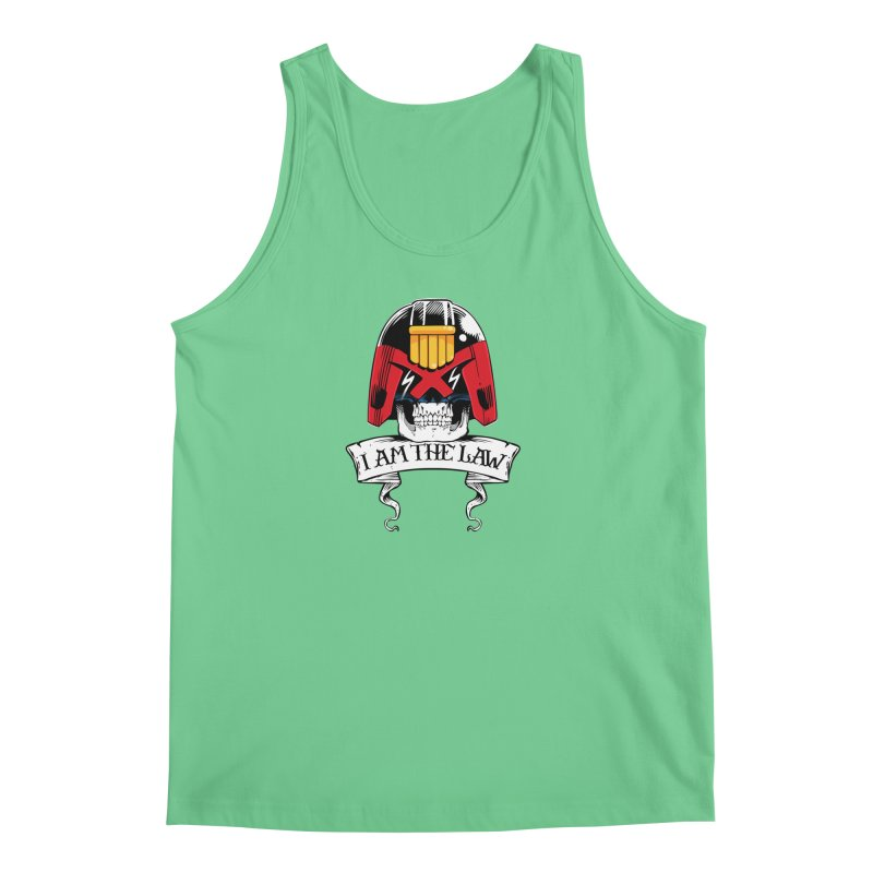 I AM THE LAW Men's Tank by D4N13L design & stuff