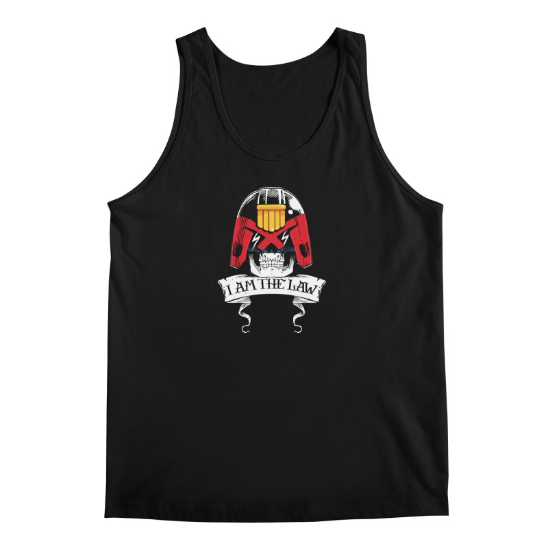 I AM THE LAW Men's Tank by D4N13L design & stuff